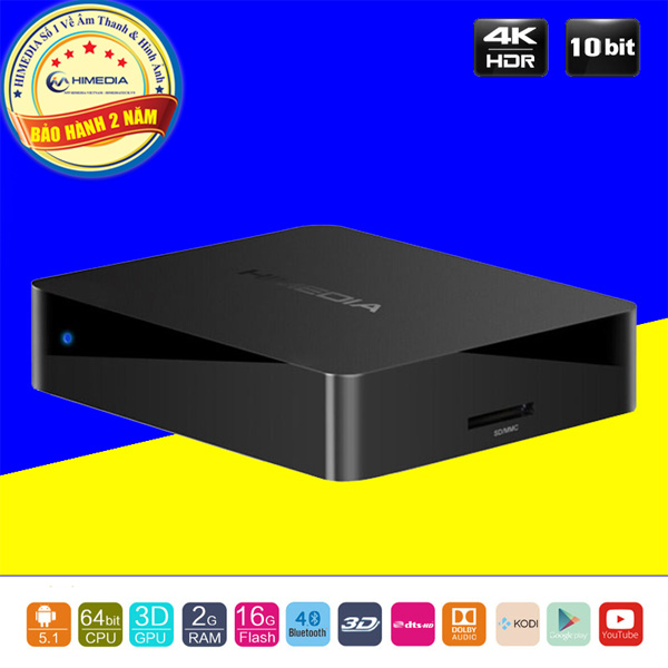 Android TV Box HIMEDIA Q1 IV
