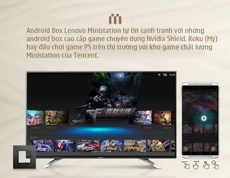 Android TV Box Lenovo Ministation VXC10