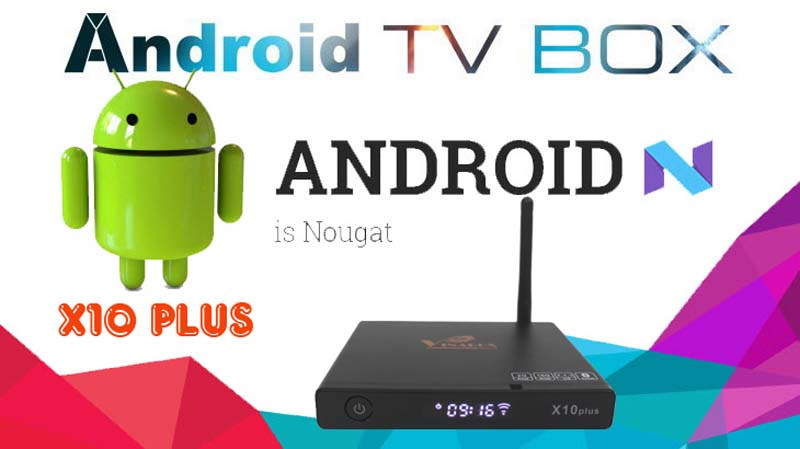 TV box vinabox x10 plus