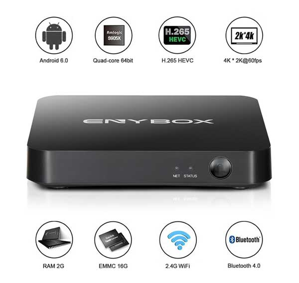 Android TV Box Enybox X3