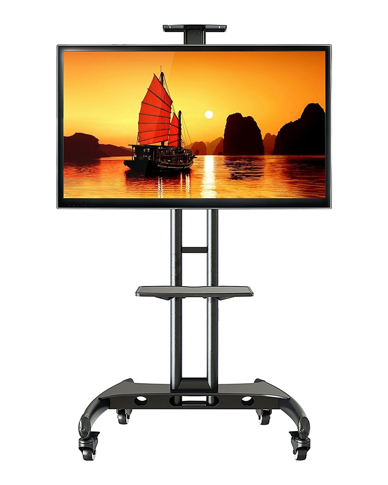 Giá treo tivi AVA1500-60-1P màu đen sang trọng, chắc chắn