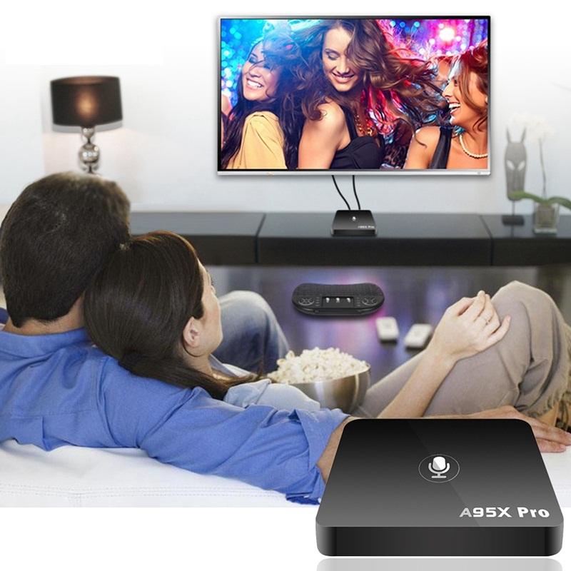 Enybox a95x pro - TV box thông minh điều khiển bằng giọng nói