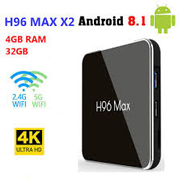 Android tv box H96 Max X2 Chip  Amlogic S905X2  RAM 4GB Rom 32GB Android 8.1