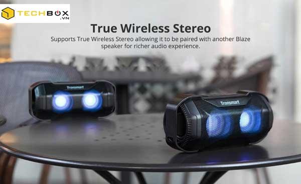 Loa Bluetooth Tronsmart Blaze Chống Nước Công Suất Lớn